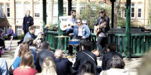Bandstand Busking: More Of This Please