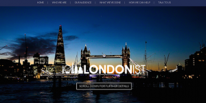 New Londonist Sales And Advertising Website