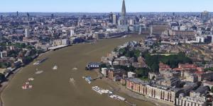 Google Maps London In 3D