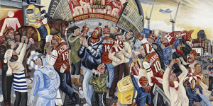Ed Gray's Renaissance-Inspired Paintings Of London