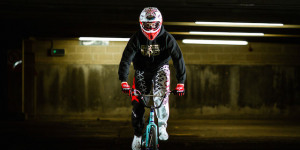 Speed, Stunts And Cyclists Take Over Tobacco Dock
