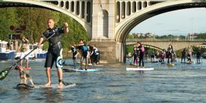 Paddle Board Your Way Down Paddington Basin