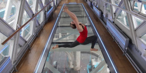 Take Yoga To New Heights On Tower Bridge's Glass Floor