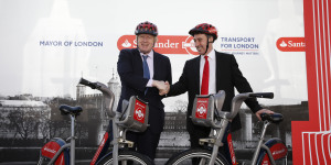 Santander Replaces Barclays As Cycle Hire Sponsor