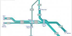 DLR: Route Changes And More Trains