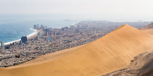 See Towering Sand Dunes And Lakes So Salty They Don't Freeze