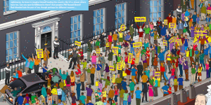 Where's Nigel? Can You Spot The Farage?