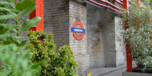 Barbican Station Gets A Pop-Up Garden