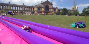 There's A Giant Waterslide Coming To Alexandra Palace