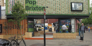 What's Brixton's Shipping Container Village Like?