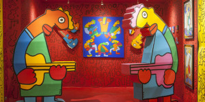 Street Artist Thierry Noir Reviewed: New Show At Shoreditch Gallery