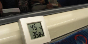 How Hot Does It Get On London's Public Transport?