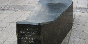Is The Oscar Wilde Memorial A Bench?