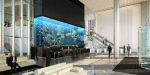 Aquarium Delivered To Heron Tower