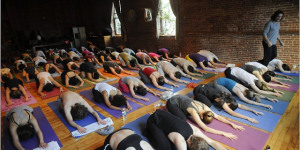 Mass Yoga Session In Hyde Park Tomorrow