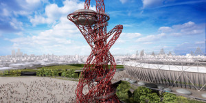 Video: Construction Of The Olympic Park's Orbit Tower