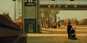 Exhibition Preview: David Piddock's The Perspective of Time @ Adam Gallery