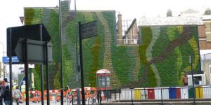 Green Wall To Tackle Air Pollution At Edgware Road Station