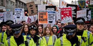 Public Sector Strikes In London