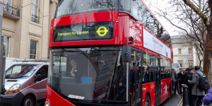 In Pictures: The New Bus For London