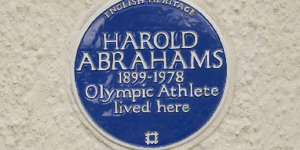 """New Blue Plaque For """"Chariots Of Fire"""" Coach, Sam Mussabini"""