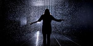 Art Review: Rain Room @ The Curve, Barbican Centre