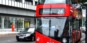 Three Seriously Injured In New-Bus-For-London Smash