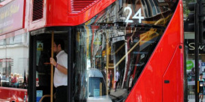 Woman Badly Injured After Falling From New Bus For London