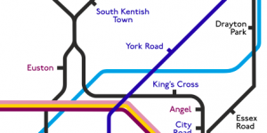 London's Ghost Stations: Mapped