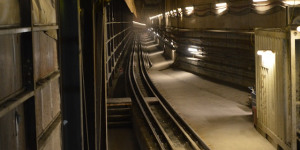Catching A Train Through A Crossrail Tunnel