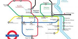 Alternative Tube Maps: Underground Underworld
