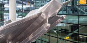 Heathrow Gets New Richard Wilson Sculpture