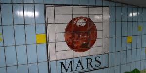 Tiny Solar System Hidden In Mill Hill Subway