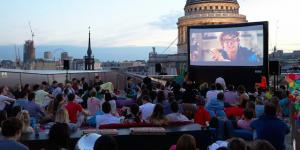 Exclusive Members' Club Opens Rooftop Cinema