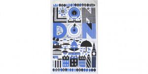 London Gift Guide: Tea Towel
