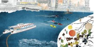 London Gift Guide: River Thames Poster