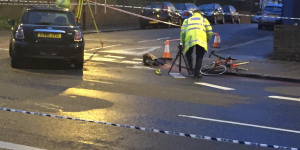 Cyclist Airlifted To Hospital After Collision