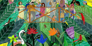 Get Lost In Artists' Depictions Of London Jungles
