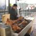 Hog roast at the Southwark side.