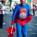 Charitable superman by row-h