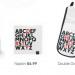 A range of gifts celebrating the Tube's New Johnston typeface.