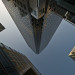 A dizzying shot in Canary Wharf, by tripowski