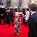 Actress Summer Strallen at last night's Olivier Awards by Zoe Craig
