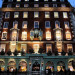The stately facade of Fortnum & Mason