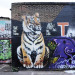 Masai's tiger on Sclater Street.