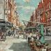 Robert E Wells, Marylebone High Street. Courtesy Thompson's Gallery