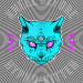 Hypno Kitteh by Peter Hawkes