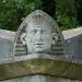 Egyptian Head, Kensal Green Cemetery, W10 by victorian london