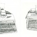My Weapons of Choice, 2010. Typewriter art by Keira Rathbone 2013 all rights reserved.