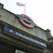 Embankment flying the Tube 150 flag by hedgiecc